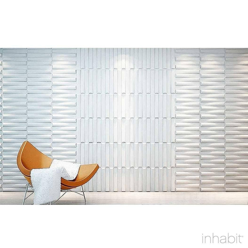 Wall Flats - 3D Wall Panels - Seesaw Wall Flats - 13 - Inhabit