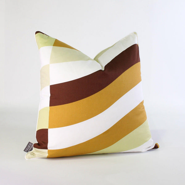 Studio Pillows - Soak in Amber Studio Throw Pillow - 1 - Inhabit
