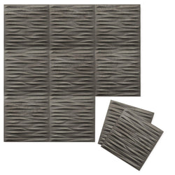 Luxe Supermatte Wall Flats - 3D Wall Panels - Split 3D Luxe Wall Flats - 1 - Inhabit