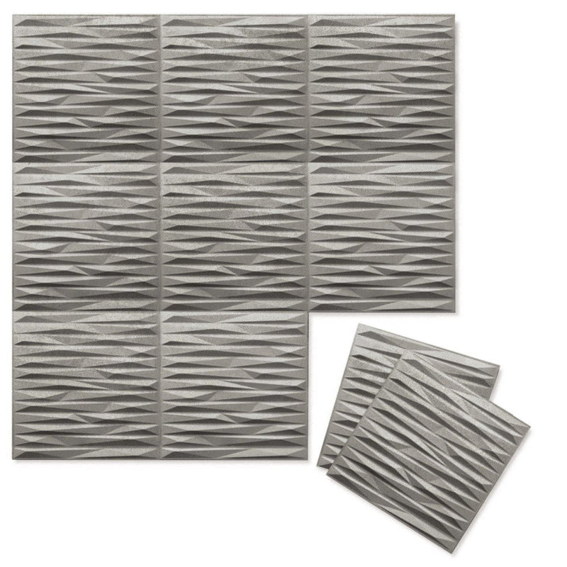 Luxe Supermatte Wall Flats - 3D Wall Panels - Split 3D Luxe Wall Flats - 5 - Inhabit