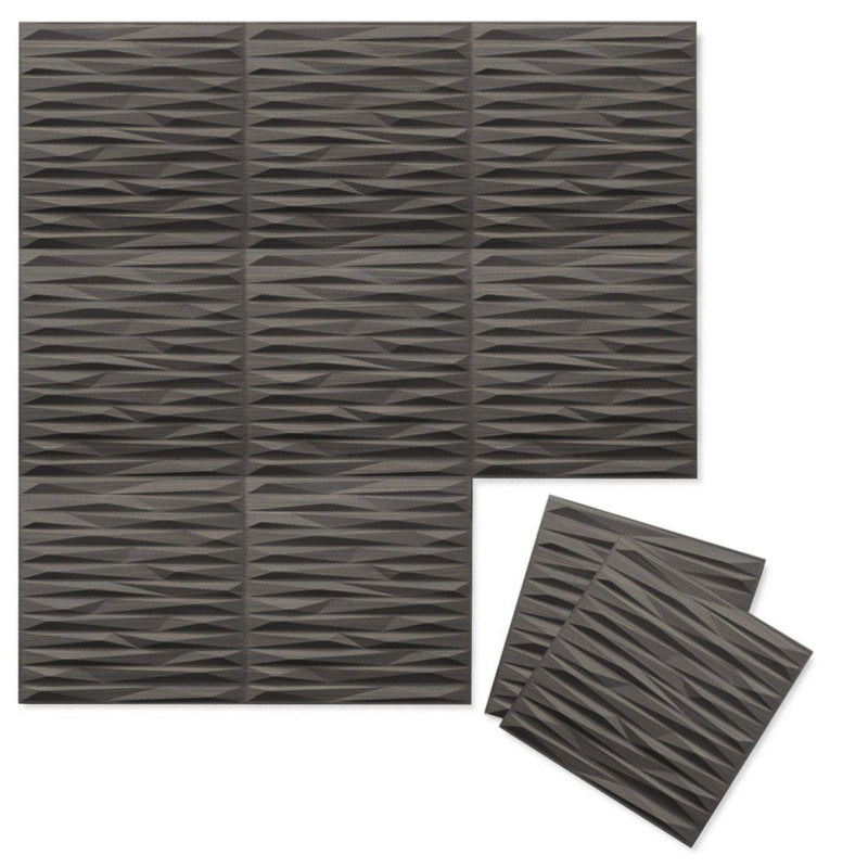 Luxe Supermatte Wall Flats - 3D Wall Panels - Split 3D Luxe Wall Flats - 11 - Inhabit