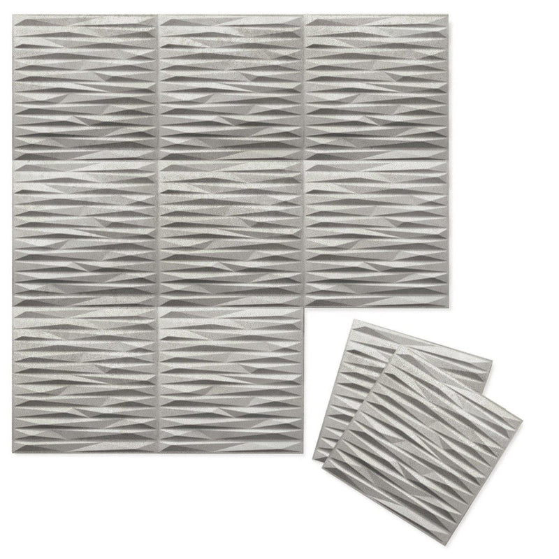 Luxe Supermatte Wall Flats - 3D Wall Panels - Split 3D Luxe Wall Flats - 4 - Inhabit