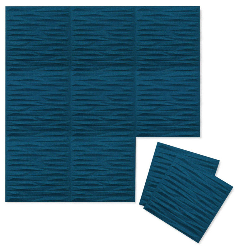 Felt 3D Wall Flats - Acoustic Panels - Split 3D PET Felt Wall Flats - 10 - Inhabit