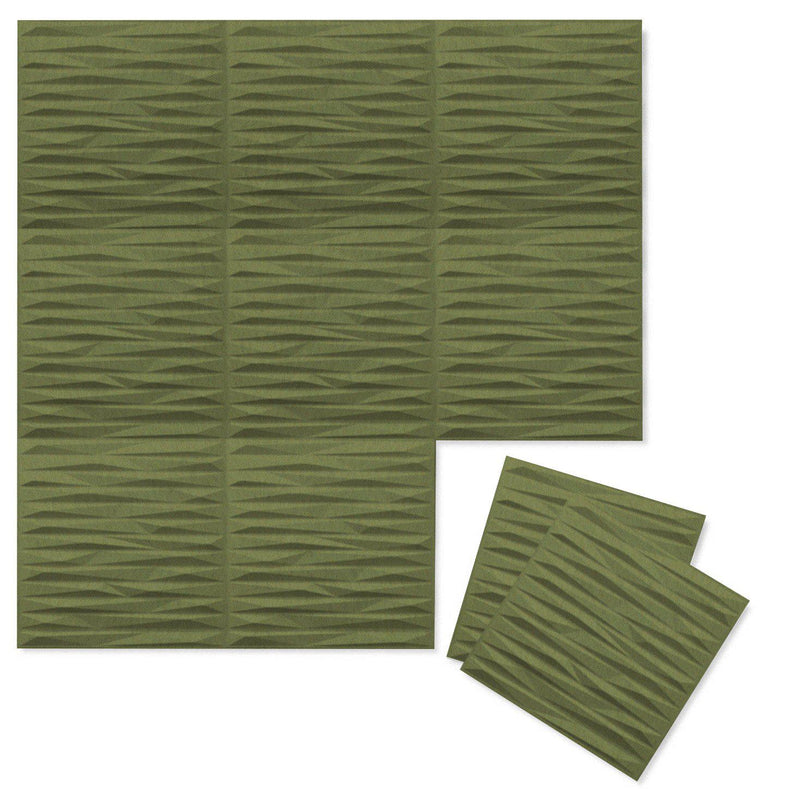 Felt 3D Wall Flats - Acoustic Panels - Split 3D PET Felt Wall Flats - 7 - Inhabit