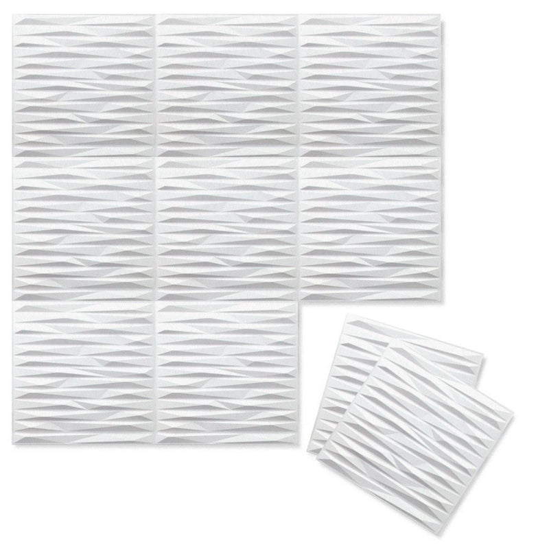 Felt 3D Wall Flats - Acoustic Panels - Split 3D PET Felt Wall Flats - 13 - Inhabit