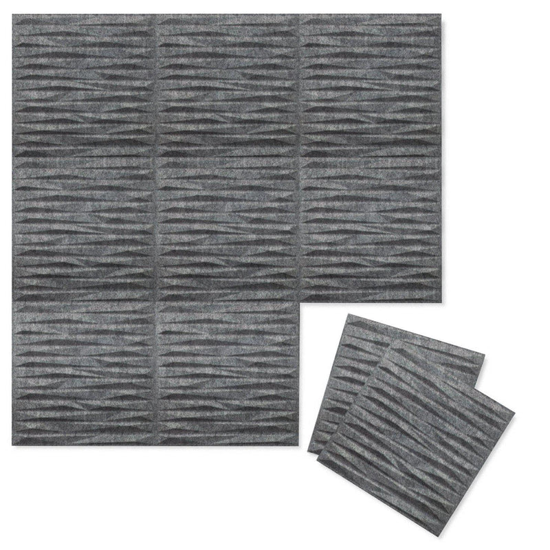 Felt 3D Wall Flats - Acoustic Panels - Split 3D PET Felt Wall Flats - 5 - Inhabit