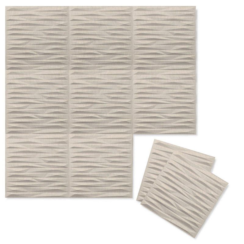 Felt 3D Wall Flats - Acoustic Panels - Split 3D PET Felt Wall Flats - 9 - Inhabit