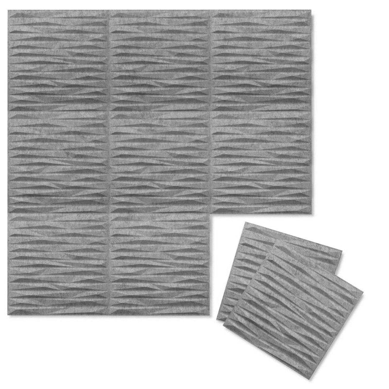 Felt 3D Wall Flats - Acoustic Panels - Split 3D PET Felt Wall Flats - 4 - Inhabit