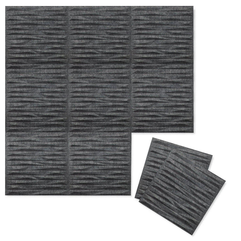 Felt 3D Wall Flats - Acoustic Panels - Split 3D PET Felt Wall Flats - 6 - Inhabit