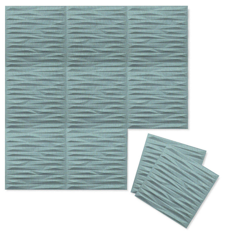 Felt 3D Wall Flats - Acoustic Panels - Split 3D PET Felt Wall Flats - 8 - Inhabit