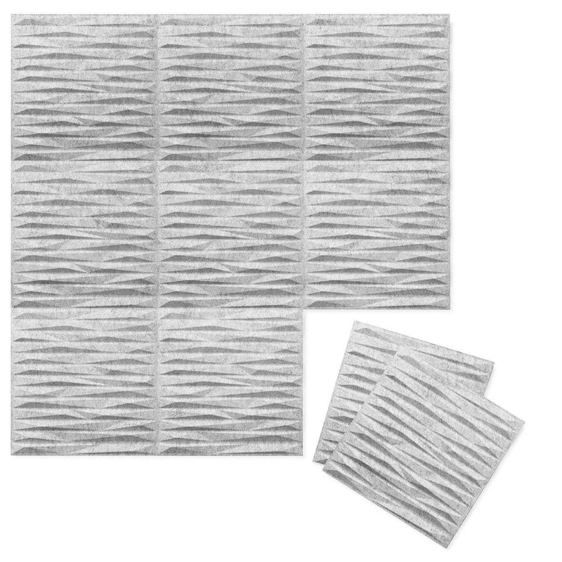 Felt 3D Wall Flats - Acoustic Panels - Split 3D PET Felt Wall Flats - 1 - Inhabit