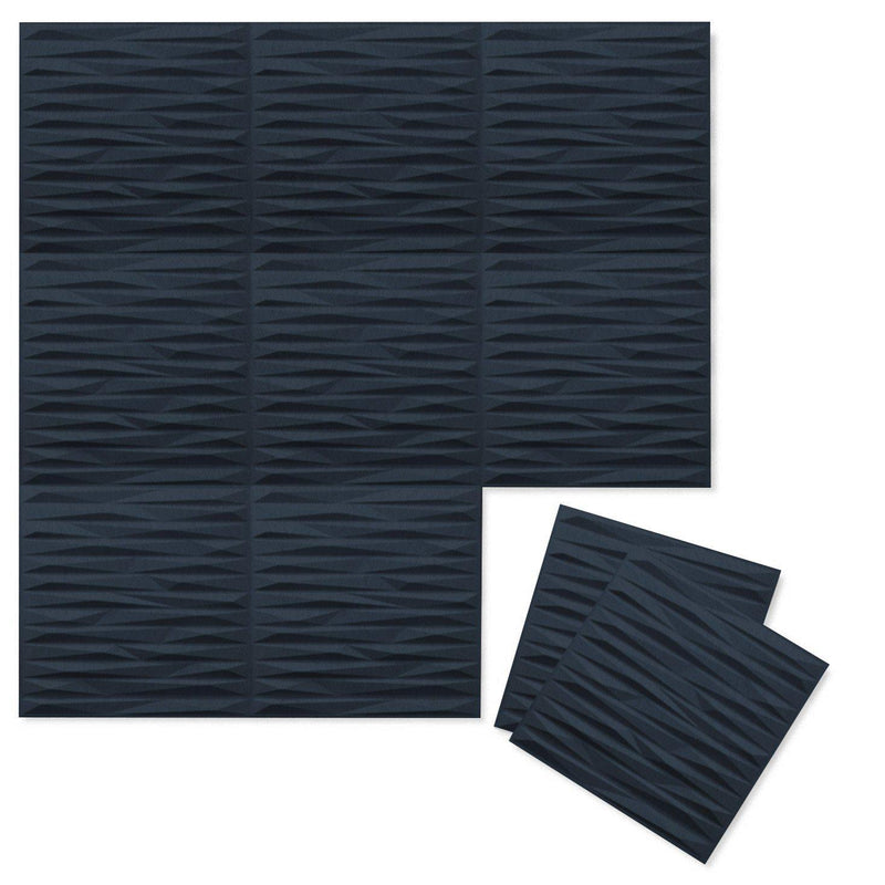 Felt 3D Wall Flats - Acoustic Panels - Split 3D PET Felt Wall Flats - 12 - Inhabit