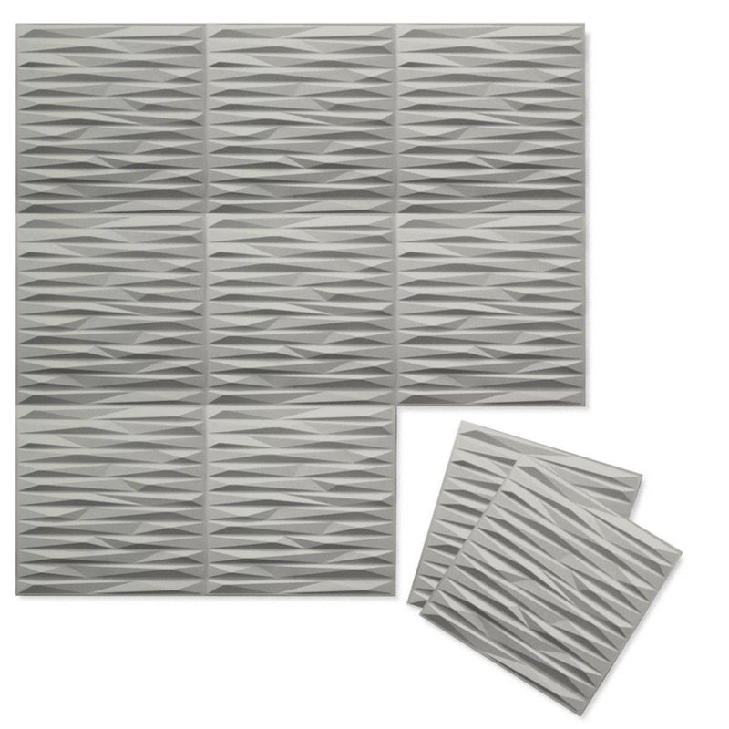 Luxe Supermatte Wall Flats - 3D Wall Panels - Split 3D Supermatte Wall Flats - 1 - Inhabit