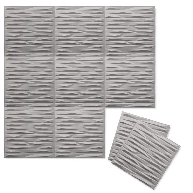 Luxe Supermatte Wall Flats - 3D Wall Panels - Split 3D Supermatte Wall Flats - 5 - Inhabit