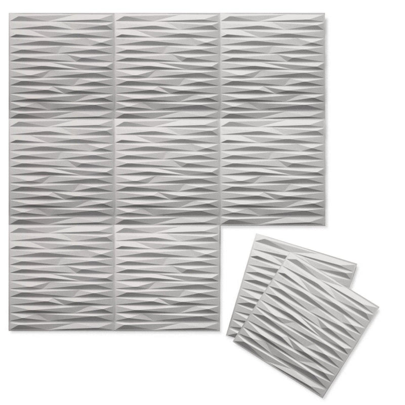 Luxe Supermatte Wall Flats - 3D Wall Panels - Split 3D Supermatte Wall Flats - 4 - Inhabit