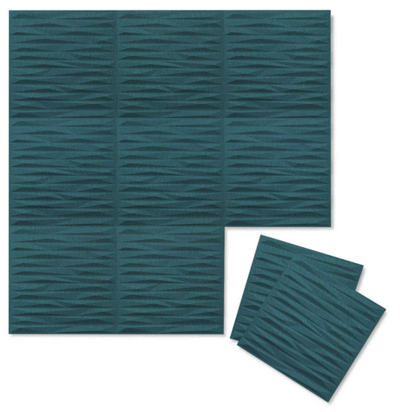 Split 3D Wool Felt Wall Flats - Felt 3D Wall Flats - Acoustic Panels - 1 - Inhabit