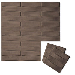 Luxe Supermatte Wall Flats - 3D Wall Panels - Stitch 3D Luxe Wall Flats - 4 - Inhabit