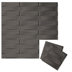 Luxe Supermatte Wall Flats - 3D Wall Panels - Stitch 3D Luxe Wall Flats - 1 - Inhabit