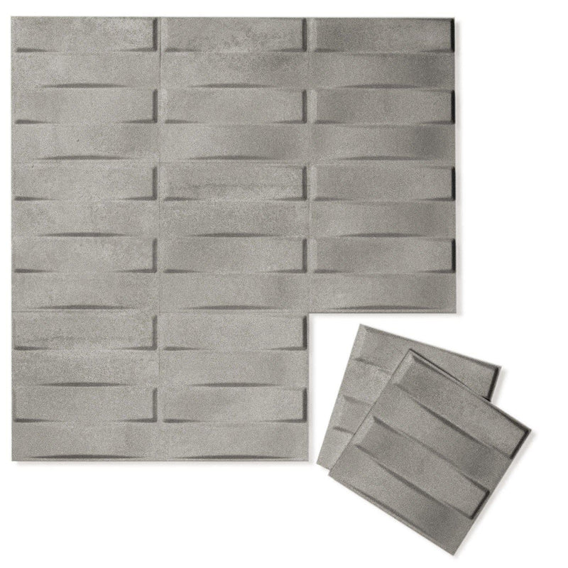 Luxe Supermatte Wall Flats - 3D Wall Panels - Stitch 3D Luxe Wall Flats - 6 - Inhabit