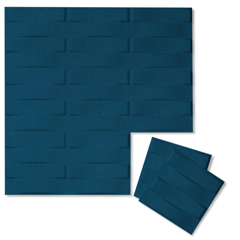 Felt 3D Wall Flats - Acoustic Panels - Stitch 3D PET Felt Wall Flats - 10 - Inhabit