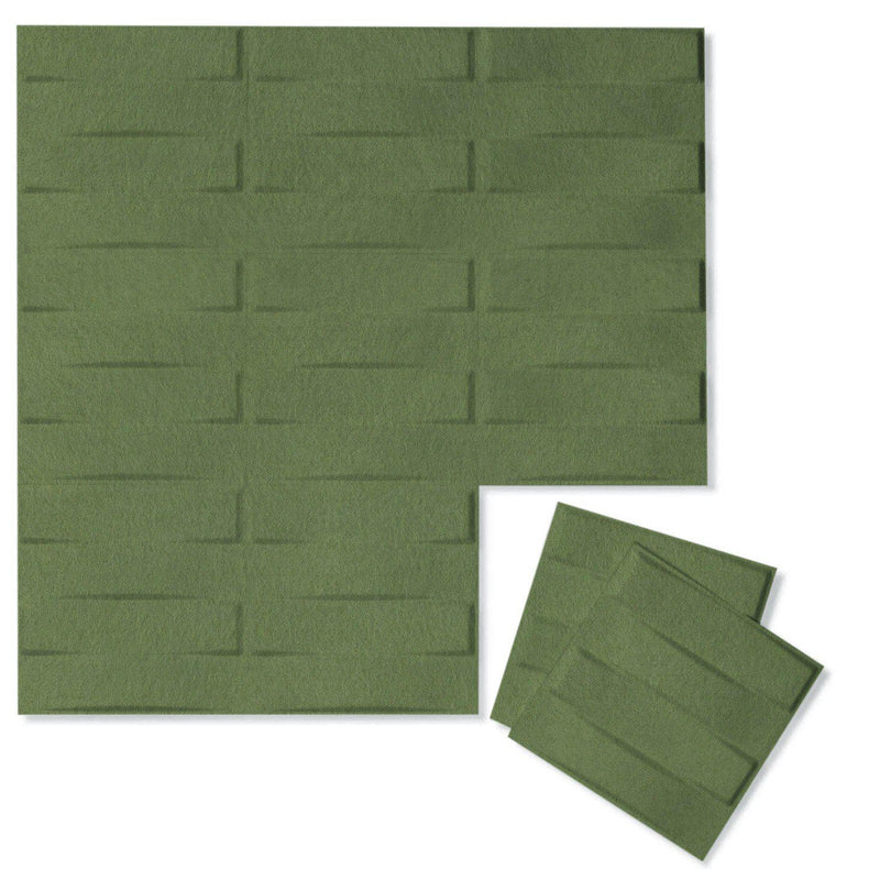 Felt 3D Wall Flats - Acoustic Panels - Stitch 3D PET Felt Wall Flats - 11 - Inhabit