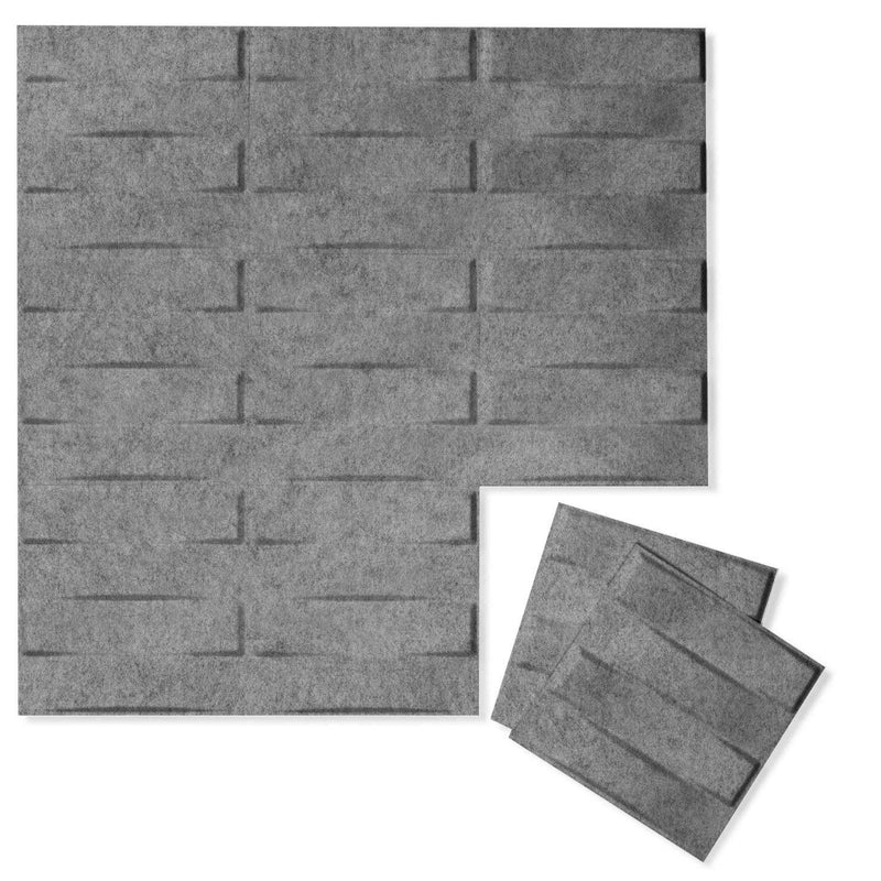 Felt 3D Wall Flats - Acoustic Panels - Stitch 3D PET Felt Wall Flats - 6 - Inhabit