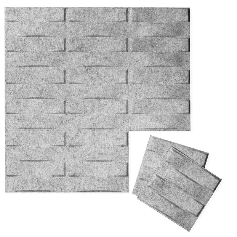 Felt 3D Wall Flats - Acoustic Panels - Stitch 3D PET Felt Wall Flats - 4 - Inhabit