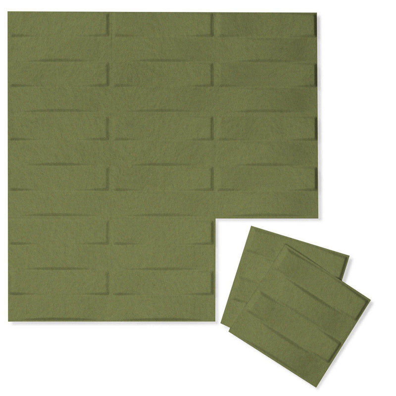 Felt 3D Wall Flats - Acoustic Panels - Stitch 3D PET Felt Wall Flats - 7 - Inhabit