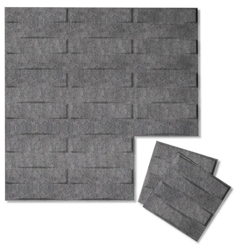 Felt 3D Wall Flats - Acoustic Panels - Stitch 3D PET Felt Wall Flats - 5 - Inhabit
