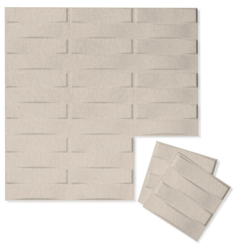 Felt 3D Wall Flats - Acoustic Panels - Stitch 3D PET Felt Wall Flats - 9 - Inhabit
