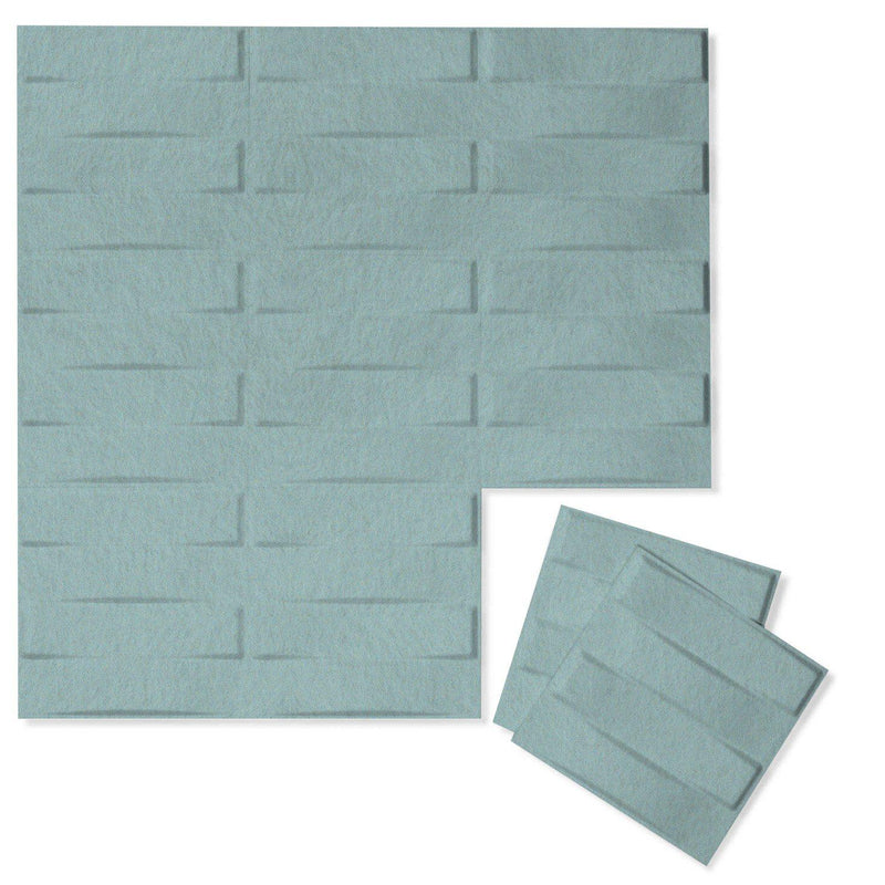 Felt 3D Wall Flats - Acoustic Panels - Stitch 3D PET Felt Wall Flats - 8 - Inhabit
