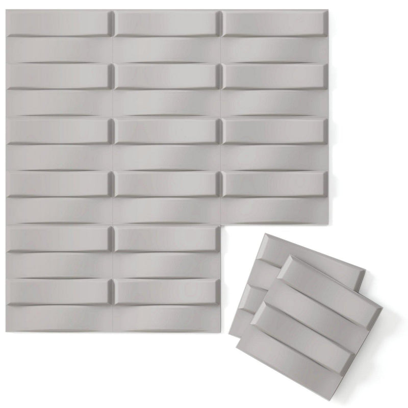 Luxe Supermatte Wall Flats - 3D Wall Panels - Stitch 3D Supermatte Wall Flats - 5 - Inhabit