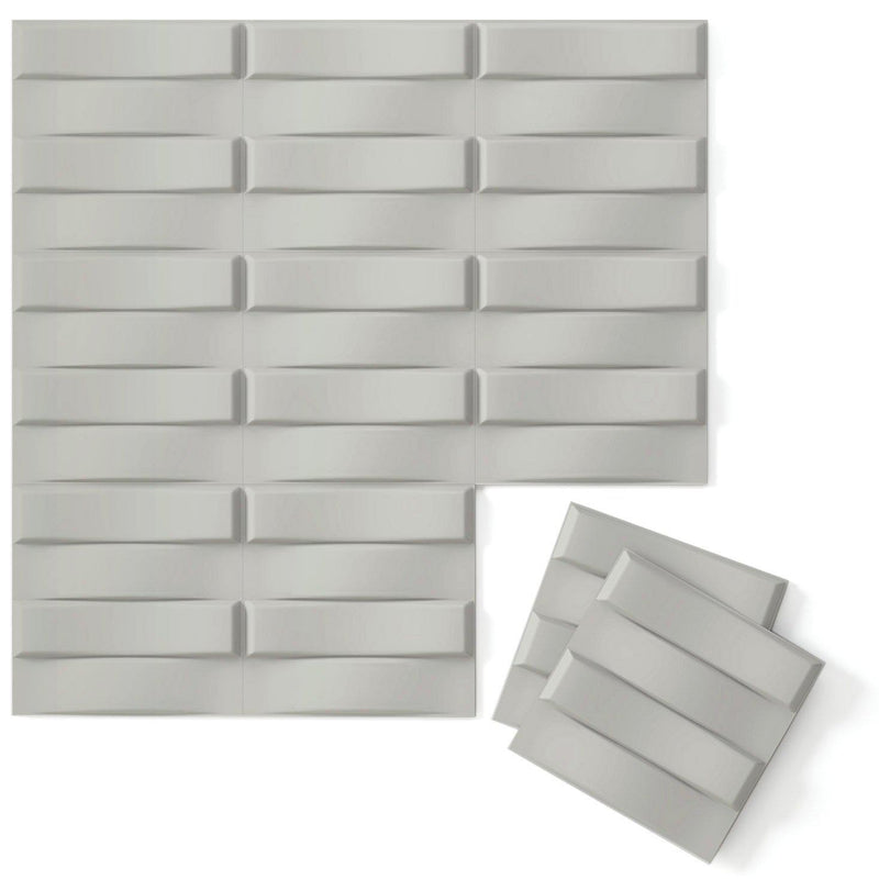 Luxe Supermatte Wall Flats - 3D Wall Panels - Stitch 3D Supermatte Wall Flats - 8 - Inhabit