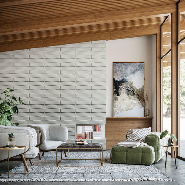 Luxe Supermatte Wall Flats - 3D Wall Panels - Stitch 3D Supermatte Wall Flats - 2 - Inhabit