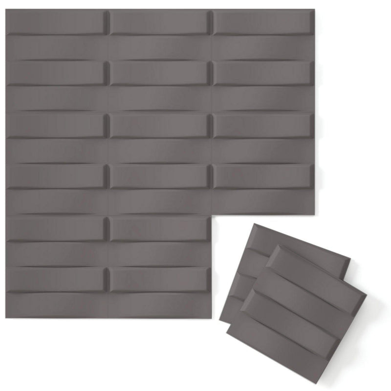 Luxe Supermatte Wall Flats - 3D Wall Panels - Stitch 3D Supermatte Wall Flats - 7 - Inhabit