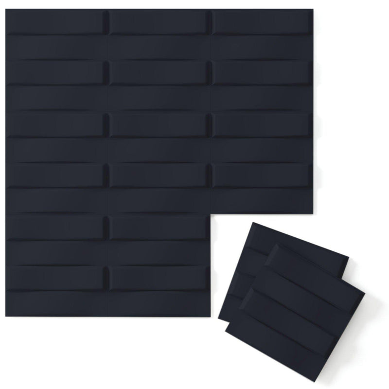 Luxe Supermatte Wall Flats - 3D Wall Panels - Stitch 3D Supermatte Wall Flats - 1 - Inhabit