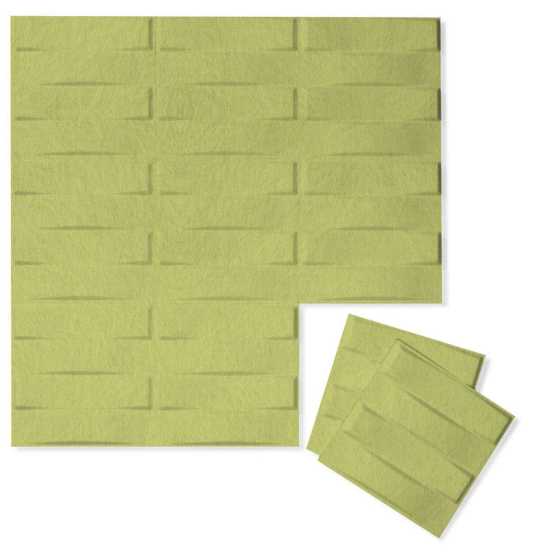 Felt 3D Wall Flats - Acoustic Panels - Stitch 3D Wool Felt Wall Flats - 13 - Inhabit