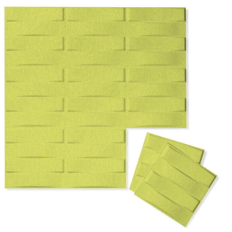 Felt 3D Wall Flats - Acoustic Panels - Stitch 3D Wool Felt Wall Flats - 14 - Inhabit