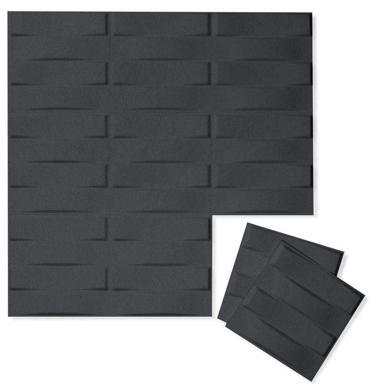 Felt 3D Wall Flats - Acoustic Panels - Stitch 3D Wool Felt Wall Flats - 5 - Inhabit