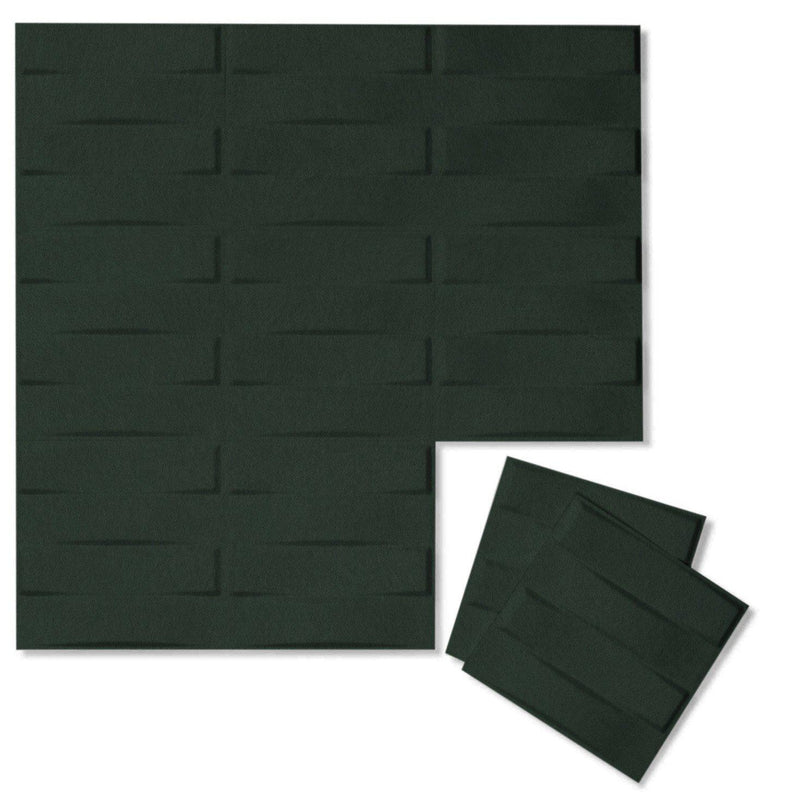 Felt 3D Wall Flats - Acoustic Panels - Stitch 3D Wool Felt Wall Flats - 8 - Inhabit