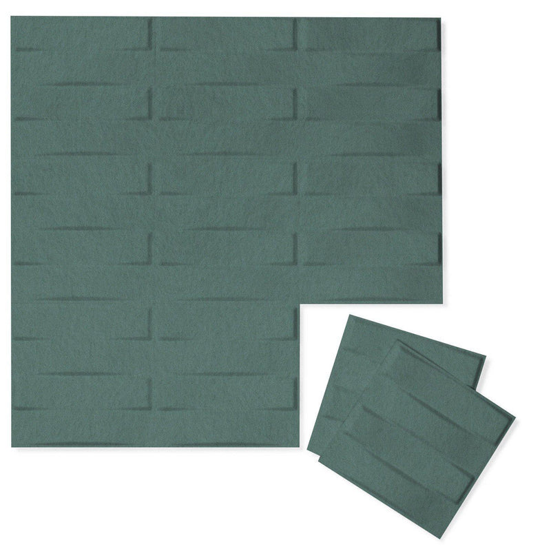 Felt 3D Wall Flats - Acoustic Panels - Stitch 3D Wool Felt Wall Flats - 6 - Inhabit