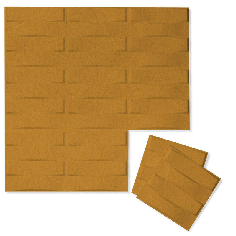 Felt 3D Wall Flats - Acoustic Panels - Stitch 3D Wool Felt Wall Flats - 9 - Inhabit