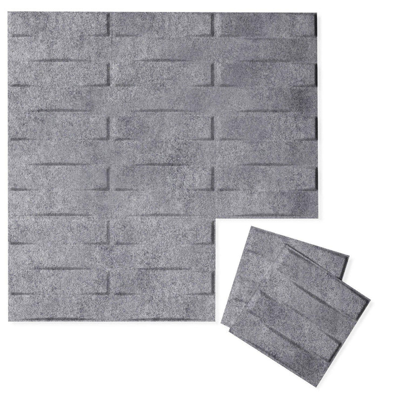 Felt 3D Wall Flats - Acoustic Panels - Stitch 3D Wool Felt Wall Flats - 4 - Inhabit
