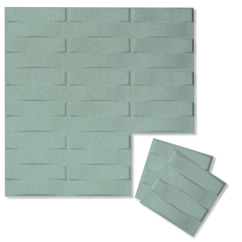 Felt 3D Wall Flats - Acoustic Panels - Stitch 3D Wool Felt Wall Flats - 11 - Inhabit