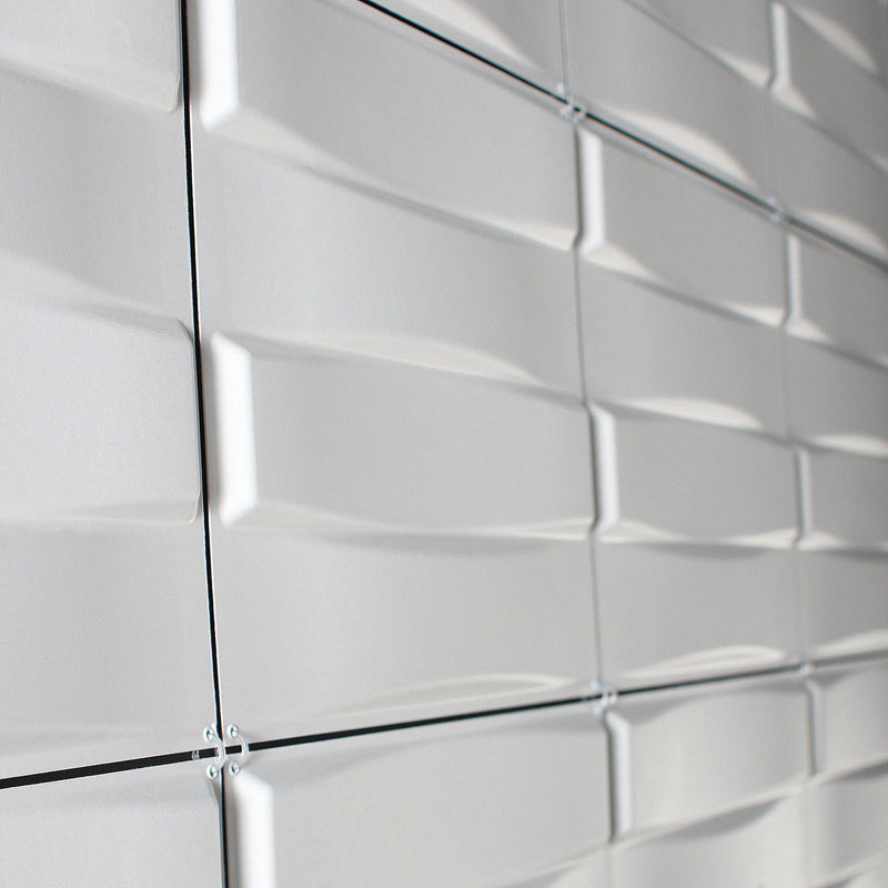 Hanging Wall Flat Systems - Stitch Hanging Paintable Wall Flat System - 3D Wall Panels - 4 - Inhabit