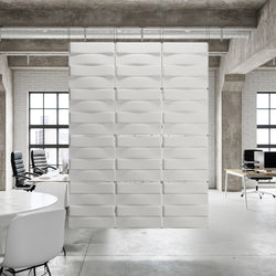 Hanging Wall Flat Systems - Stitch Hanging Paintable Wall Flat System - 3D Wall Panels - 1 - Inhabit