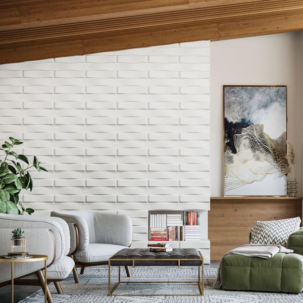 Stitch Paint Ready Wall Flats - 3D Wall Panels - Wall Flats - 3D Wall Panels - 1 - Inhabit
