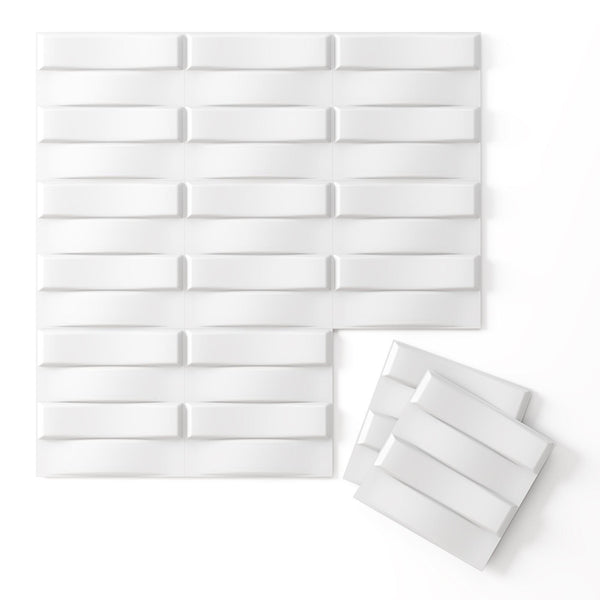Wall Flats - 3D Wall Panels - Stitch Wall Flats - 2 - Inhabit