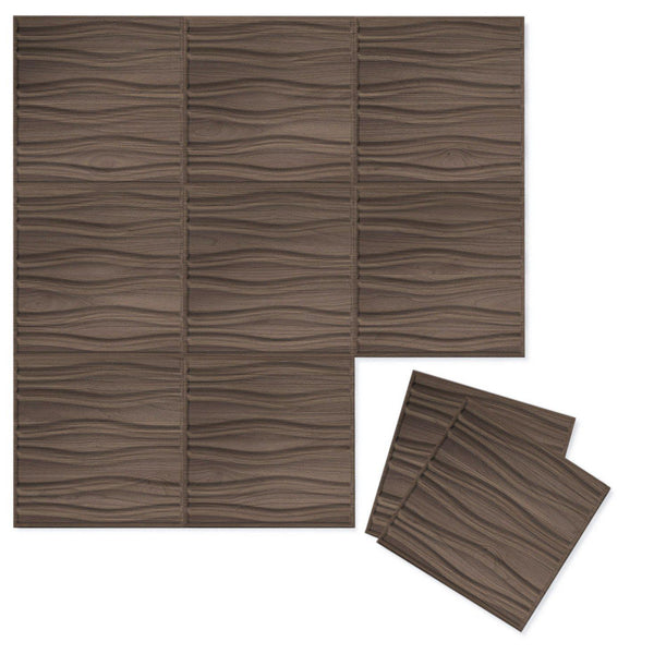 Luxe Supermatte Wall Flats - 3D Wall Panels - Swell 3D Luxe Wall Flats - 2 - Inhabit