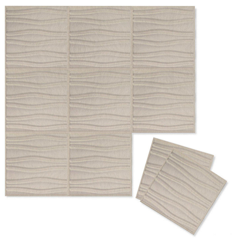 Felt 3D Wall Flats - Acoustic Panels - Swell 3D PET Felt Wall Flats - 9 - Inhabit